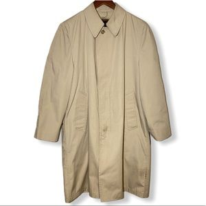 London Fog Vintage 36 Short Trench Coat